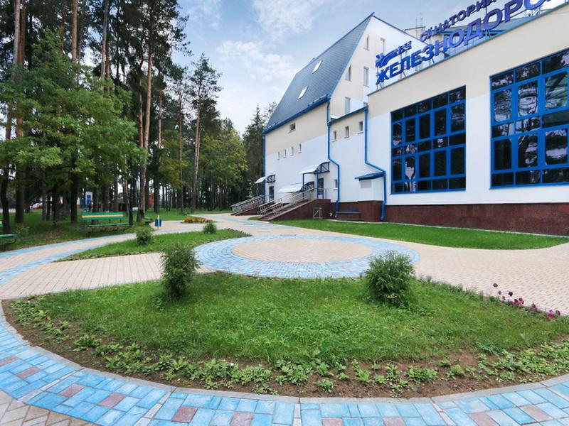 Курорт Лётцы - Санаторий Железнодорожник